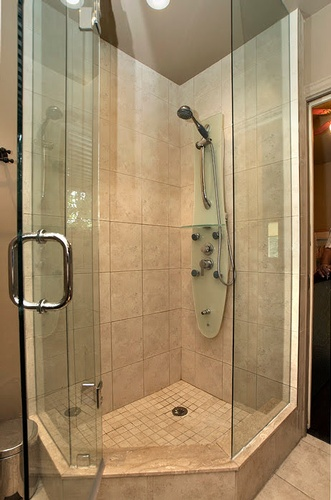 Corner Shower Glass Cabin by Finished Basements in East York