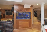 Living room cabinets in Oakville by Basement Renovation Contractor - Finished Basements