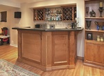 Home Bar Counter and Cabinets in Oakville by Finished Basements