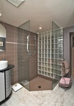 Corner Shower room by Finished Basements in East York