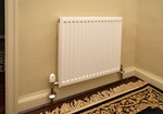 Wall Mounted White Electric radiator