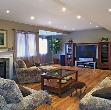 Basement Renovations in Burlington by Finished Basements