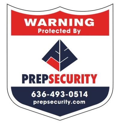Prep Security Sticker