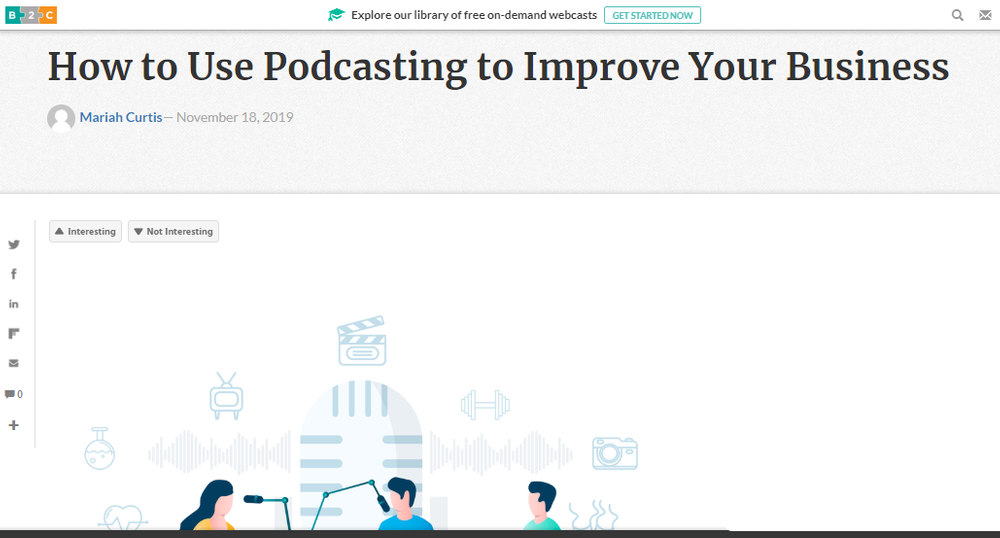 How to Use Podcasting to Improve Your Business - Business 2 Community.png