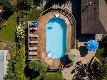 Swimming Pool Real Estate Photography Oak Lawn by Visual Filmworks