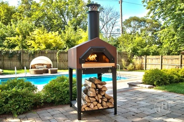 Outdoor Wood Fired Oven - Photography Services Schaumburg by Visual Filmworks