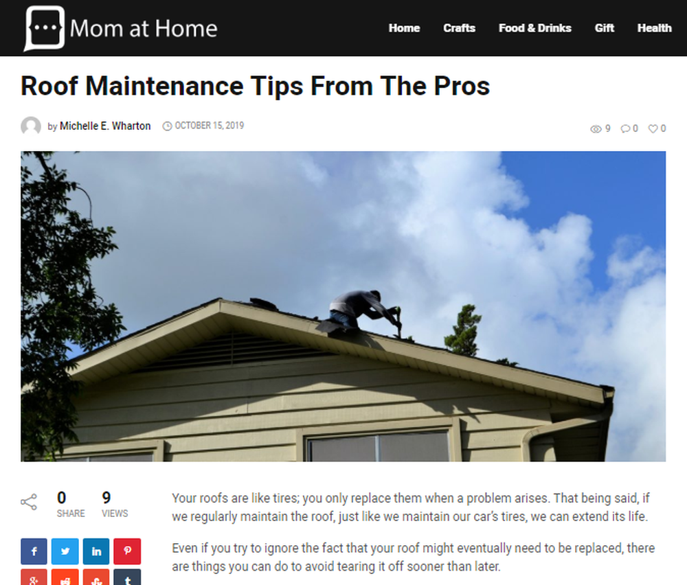 Roof Maintenance Tips From The Pros - Momma Young at Home.png