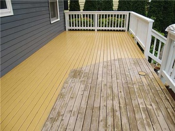 Waterproof Deck Coating Services by Citadel