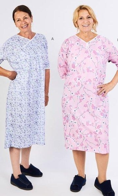 Nightgowns - Light Knit - Various Styles & Prints