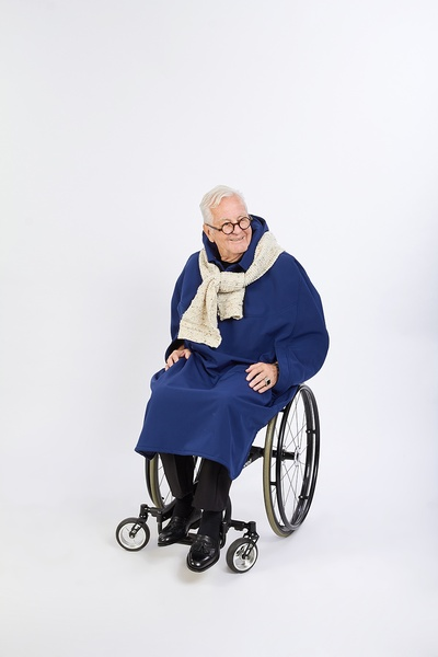 Wheelchair Capes - Winter Sleeveless
