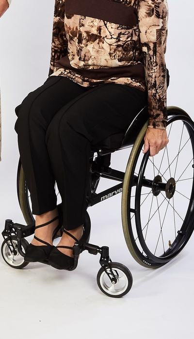 Unisex Pants for wheelchairs - 2XL