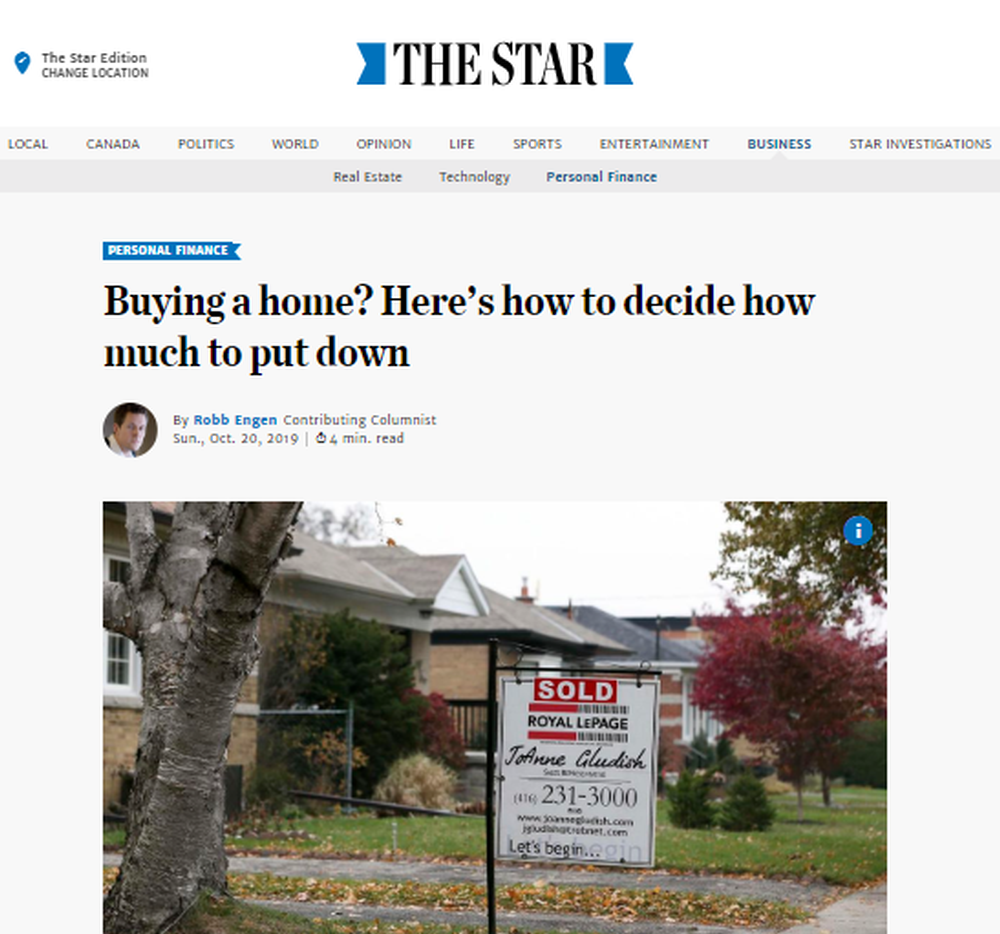 Buying a home  Here's how to decide how much to put down   The Star.png