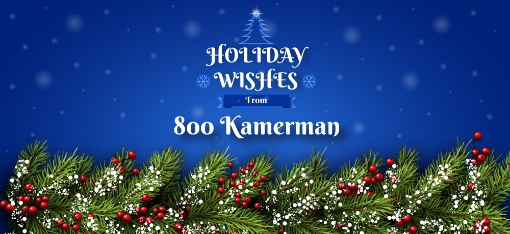 Season's Greetings From 800 Kamerman