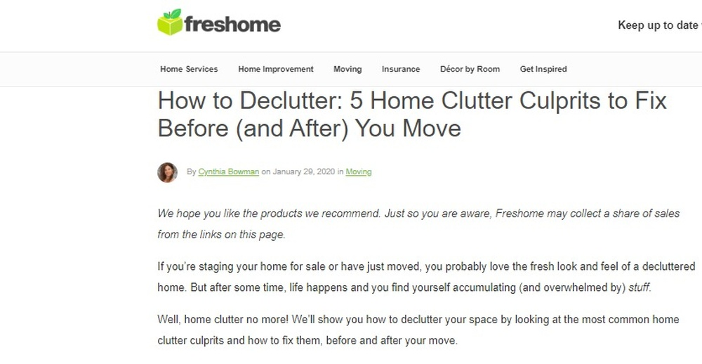 How to Declutter  5 Home Clutter Culprits to Fix Before  and After  You Move   Freshome com.jpg