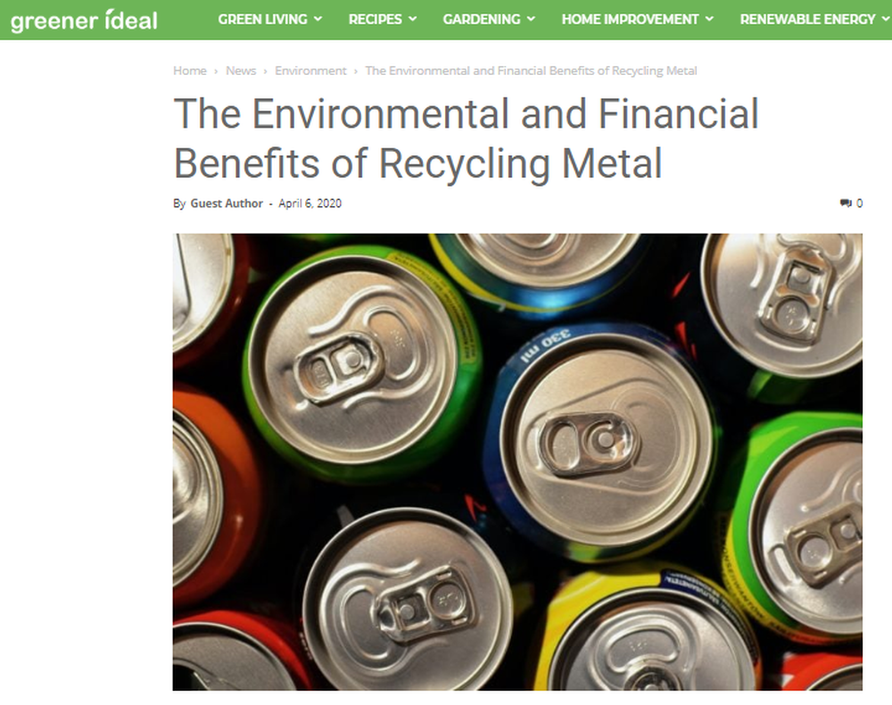 The Environmental and Financial Benefits of Recycling Metal   Greener Ideal.png