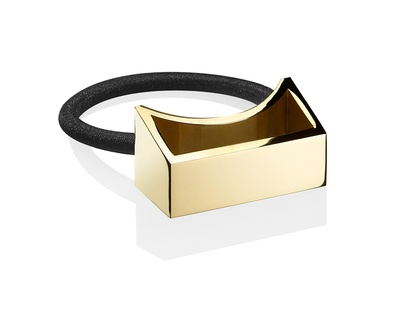 Geometric Gold Plated Metal Pony - Buy Hair Accessories Online at The Manor - A Boutique Salon