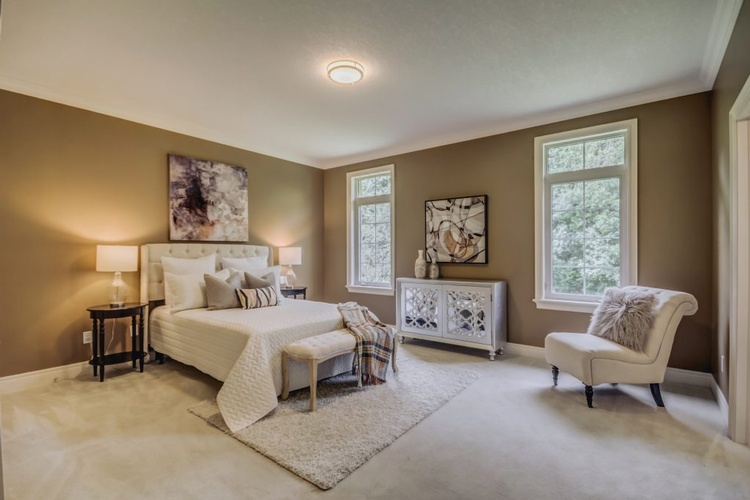 Elegant Bedroom Staging by Home Stager Scarborough at Impressive Staging