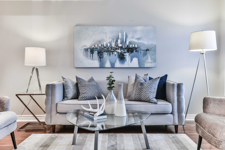 Decorative Accents on Coffee Table - Home Decor Mississauga by Impressive Staging