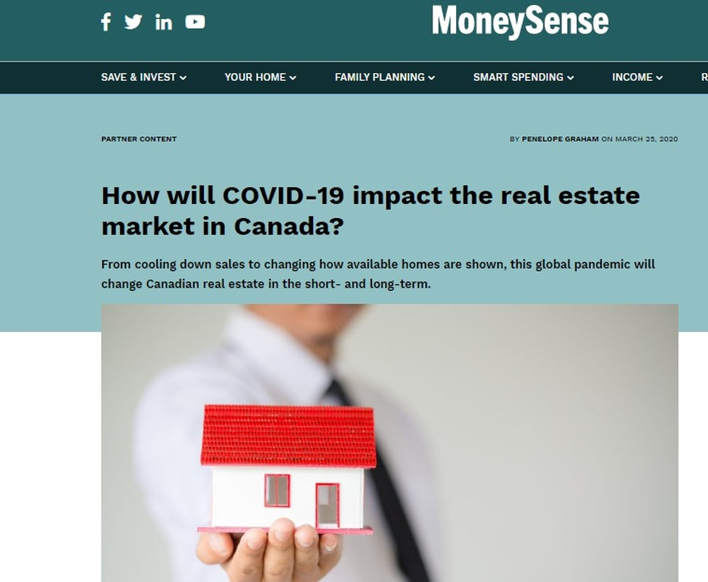 How will COVID-19 impact the real estate market in Canada    MoneySense