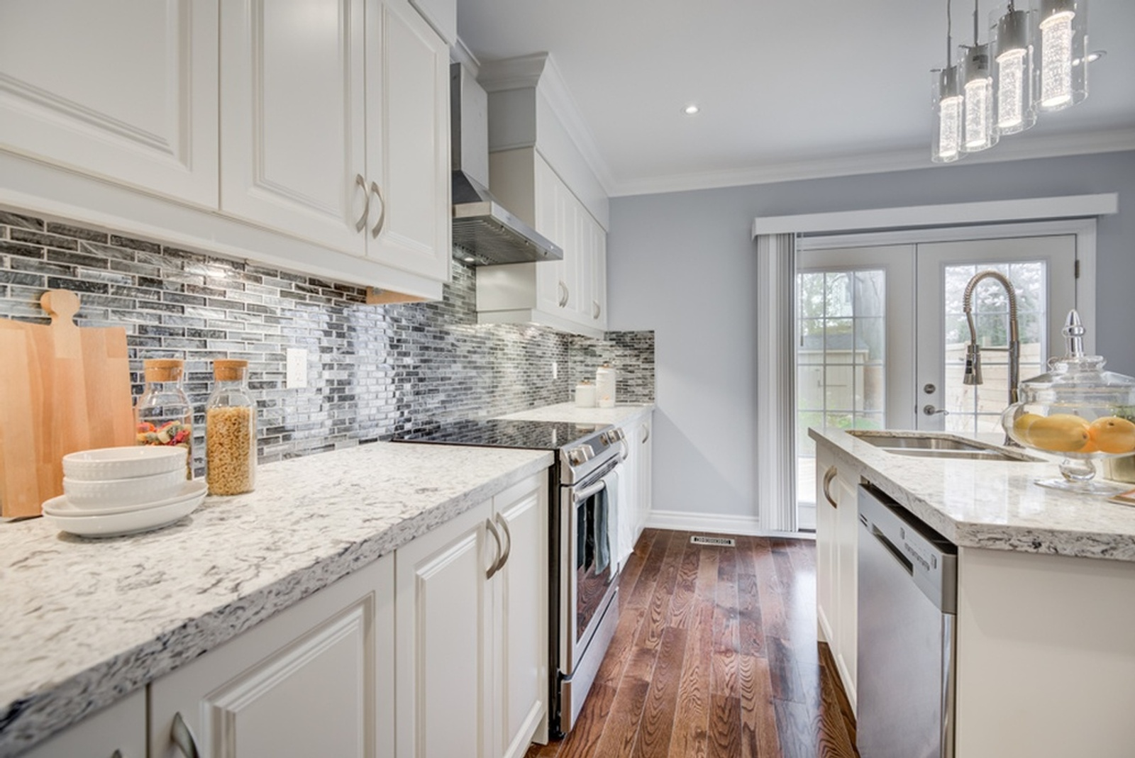Open Concept Home Staging Glememount Drive, East York by Impressive Staging