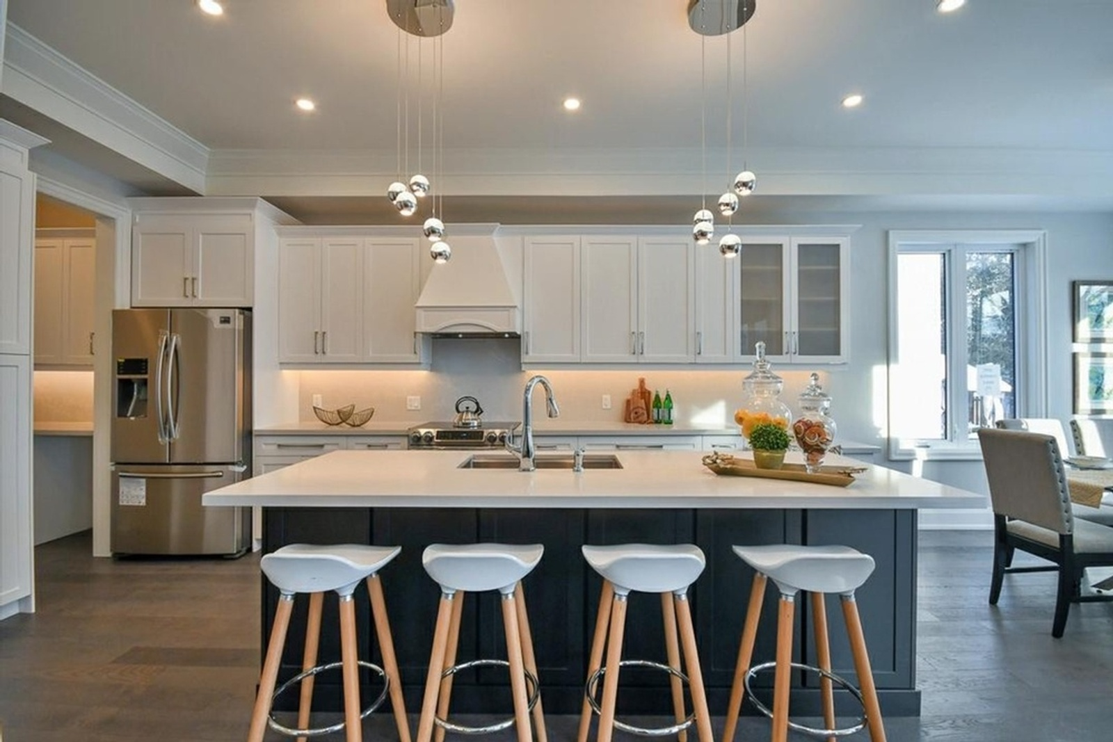 Kitchen Counter Stools - Home Staging services by Impressive Staging - Home Staging Company Oshawa ON