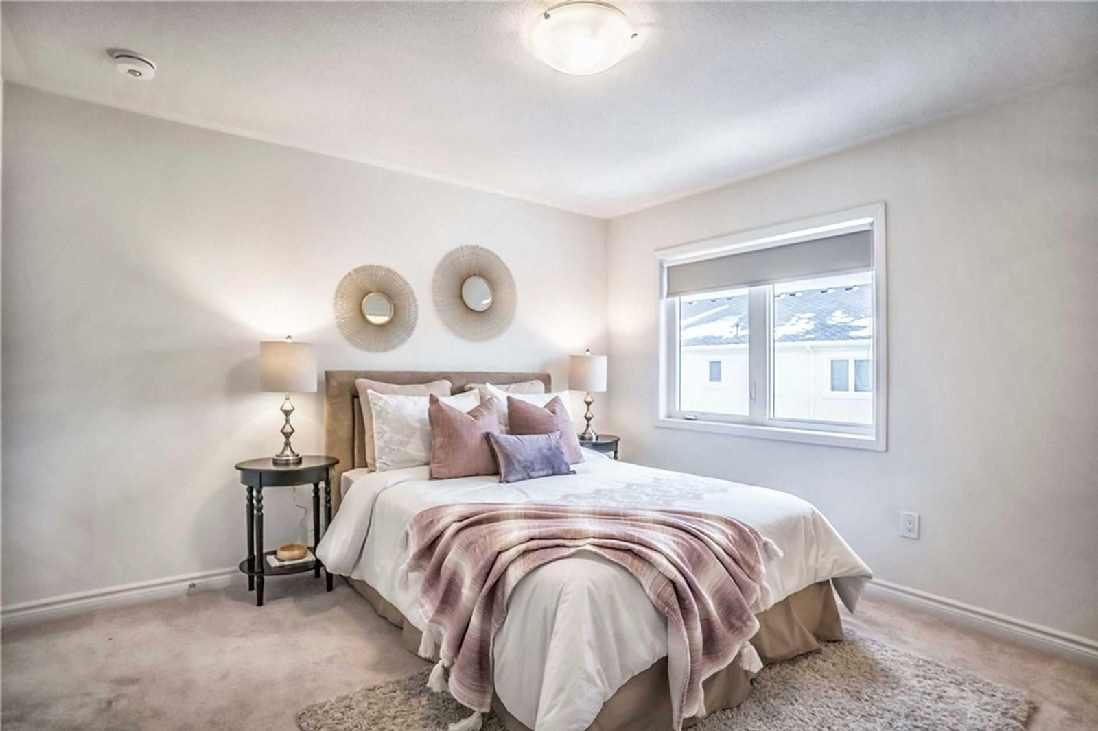 Elegant Staged Bedroom - Home Staging Consultation Services Brampton by Impressive Staging