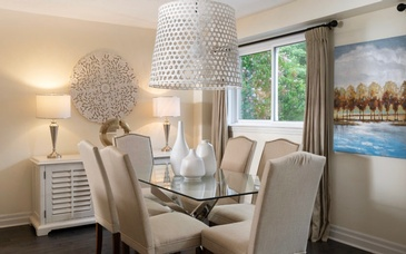 Lovely Dining Space - Home Staging Services Ajax by Impressive Staging