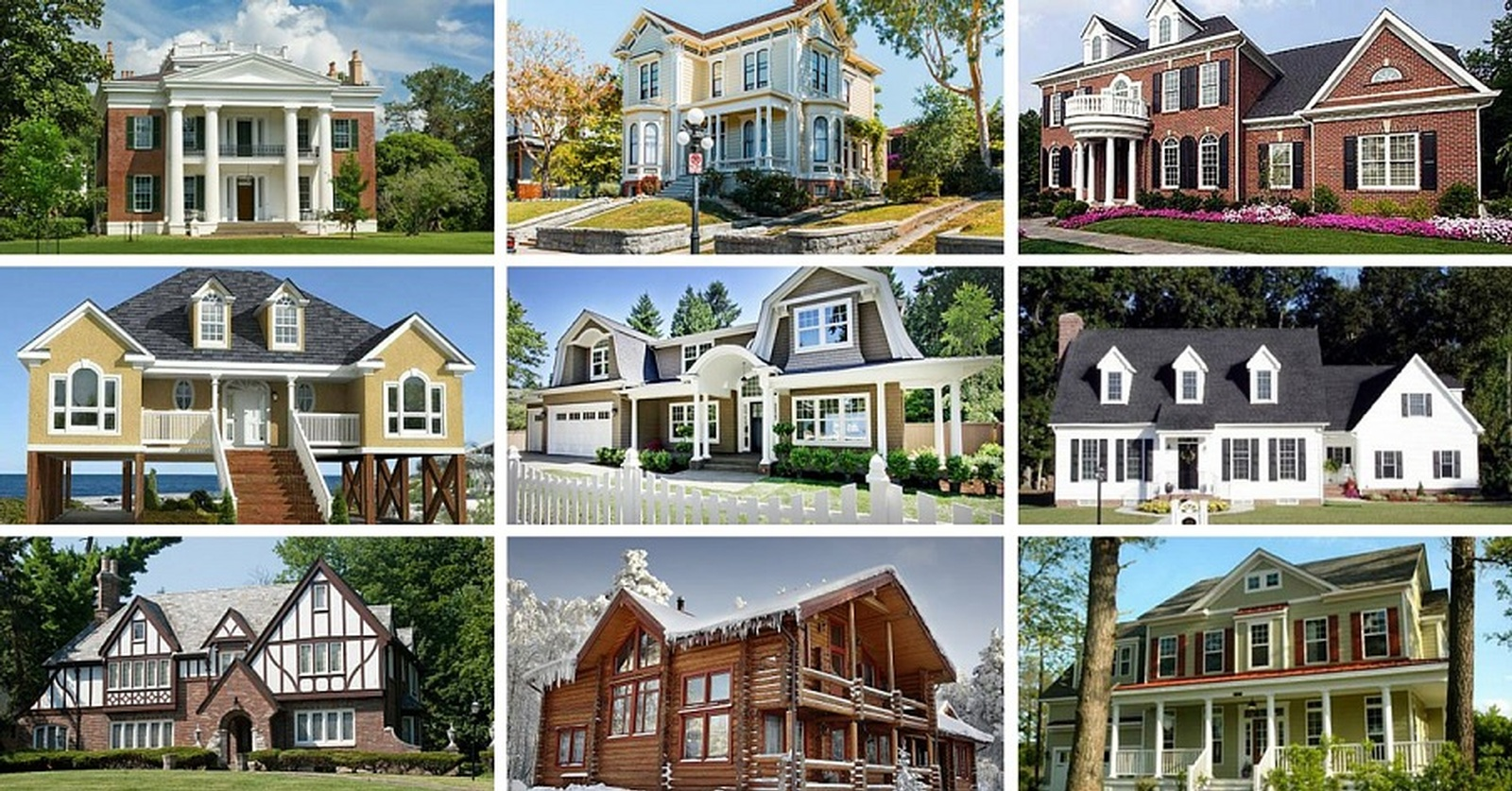 Different Types of Homes