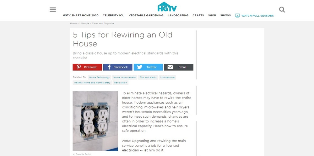5 Tips for Rewiring an Old House   HGTV.jpg
