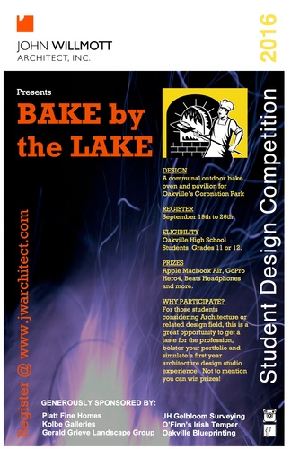 Bake by the Lake - Student Design Competition 2016