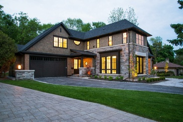 New Home Construction by Oakville Architecture Firm - John Willmott Architect, Inc.