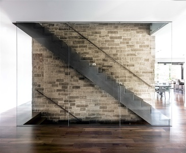 Creative Staircase Design for Modern Homes by John Willmott Architect, Inc.