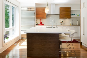 Modern and Contemporary Kitchen Design by John Willmott Architect, Inc.
