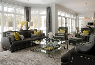 Lovely Living room Design by John Willmott Architect, Inc.