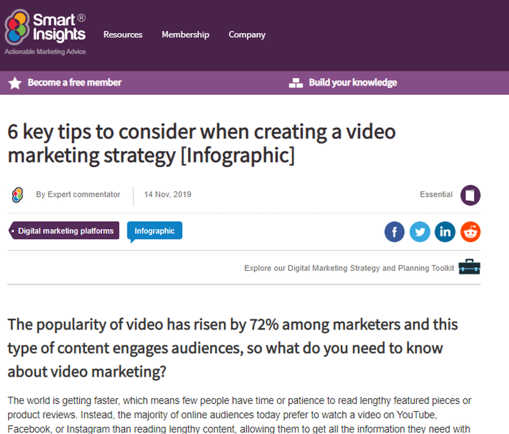 6 key tips to consider when creating a video marketing strategy  Infographic    Smart Insights.png