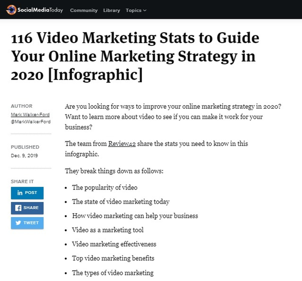 116 Video Marketing Stats to Guide Your Online Marketing Strategy in 2020  Infographic    Social Media Today.jpg