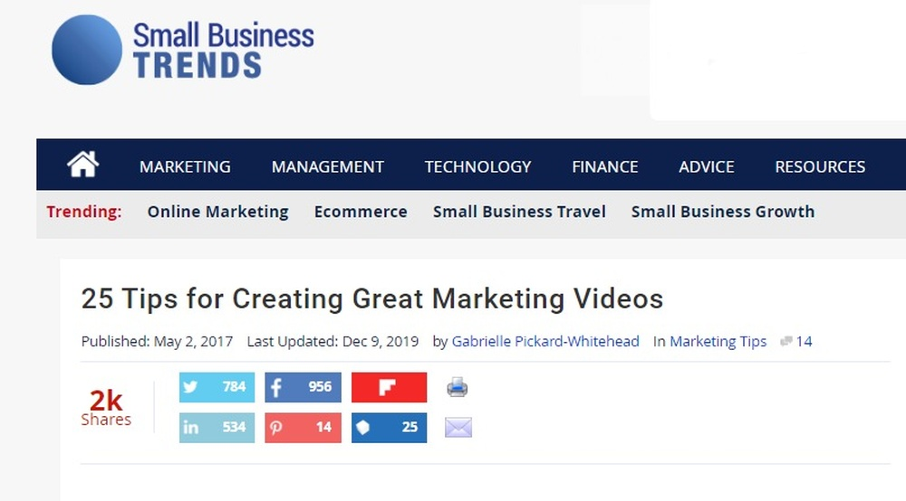 25 Tips for Creating Great Marketing Videos - Small Business Trends.jpg