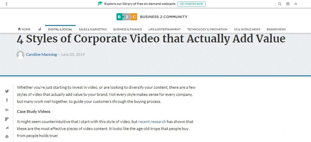 4 Styles of Corporate Video that Actually Add Value - Business 2 Community.jpg