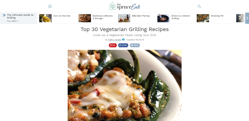 30 Top Vegetarian Grilling Recipes.png