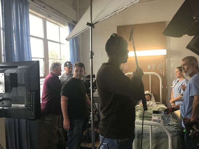 4L Films - Film Production Company Atlanta shooting a Hospital Scene