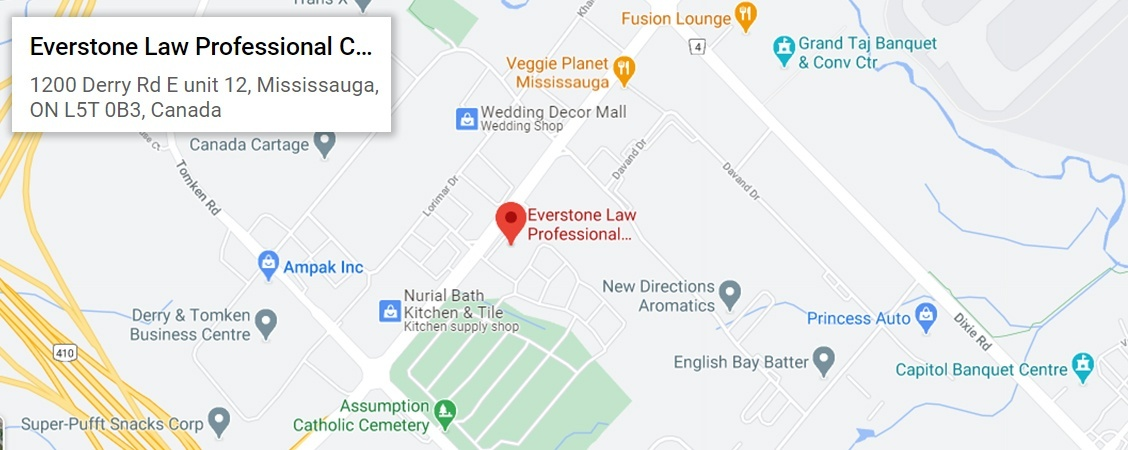 Criminal, Impaired Driving Lawyer Mississauga at Everstone Law Professional Corporation