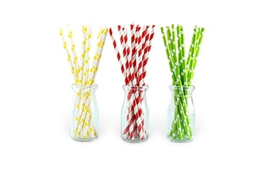 Eco-Friendly and Biodegradable Paper Drinking Straws