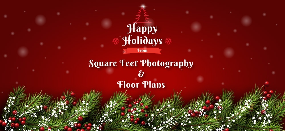 Season's Greetings from Square Feet Photography and Floor Plans