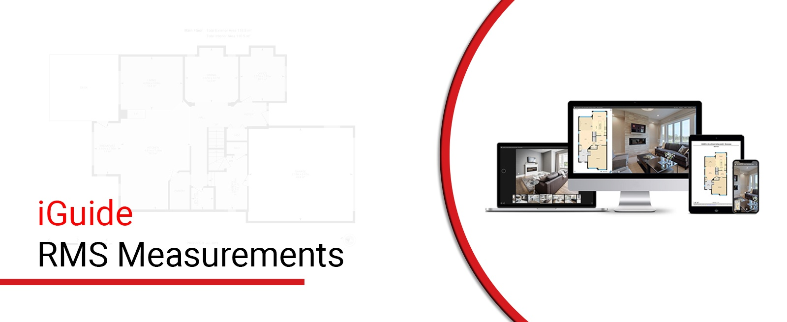 iGuide RMS Measurements - Square Feet Photography and Floor Plans