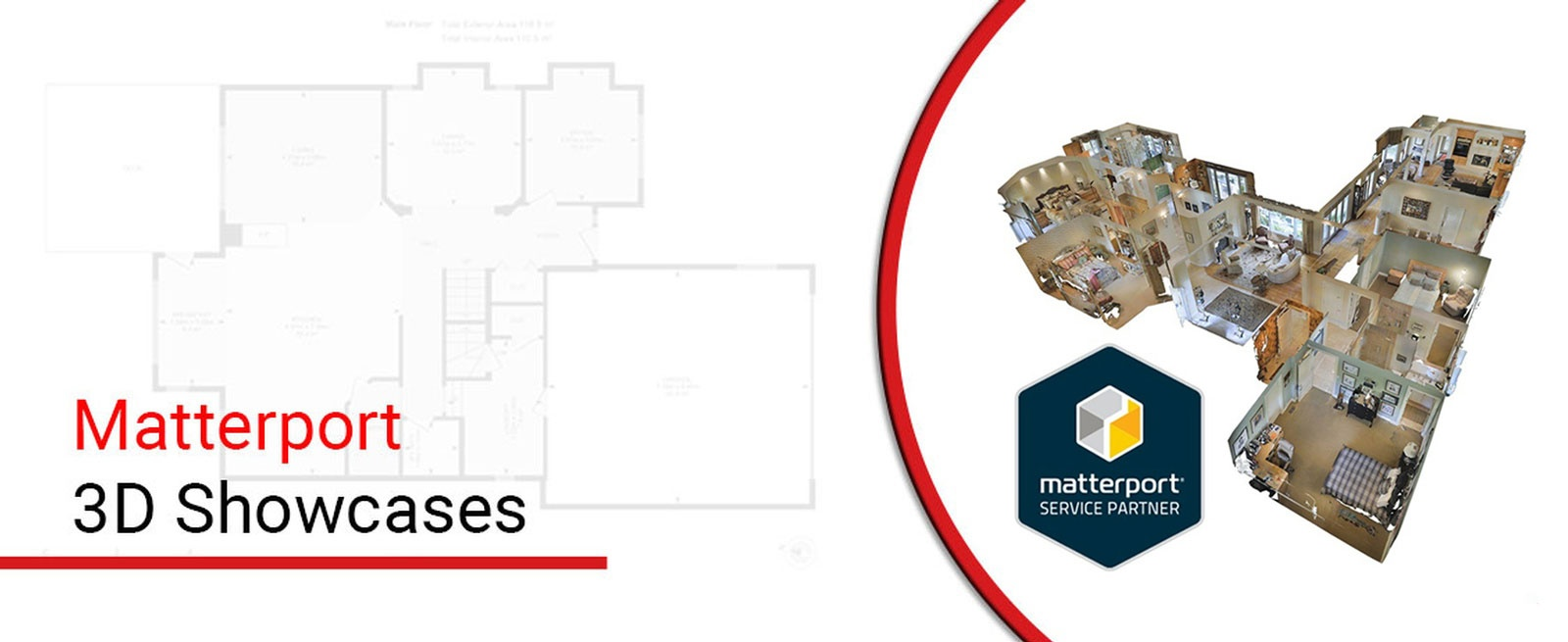 Matterport 3D Showcases - Square Feet Photography and Floor Plans