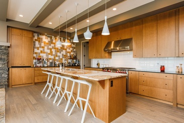 Wooden Kitchen  - Real Estate Property Photography Leduc by Square Feet Photography and Floor Plans