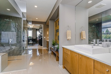 Corporate Bathroom - Real Estate Photography Edmonton by Square Feet Photography and Floor Plans