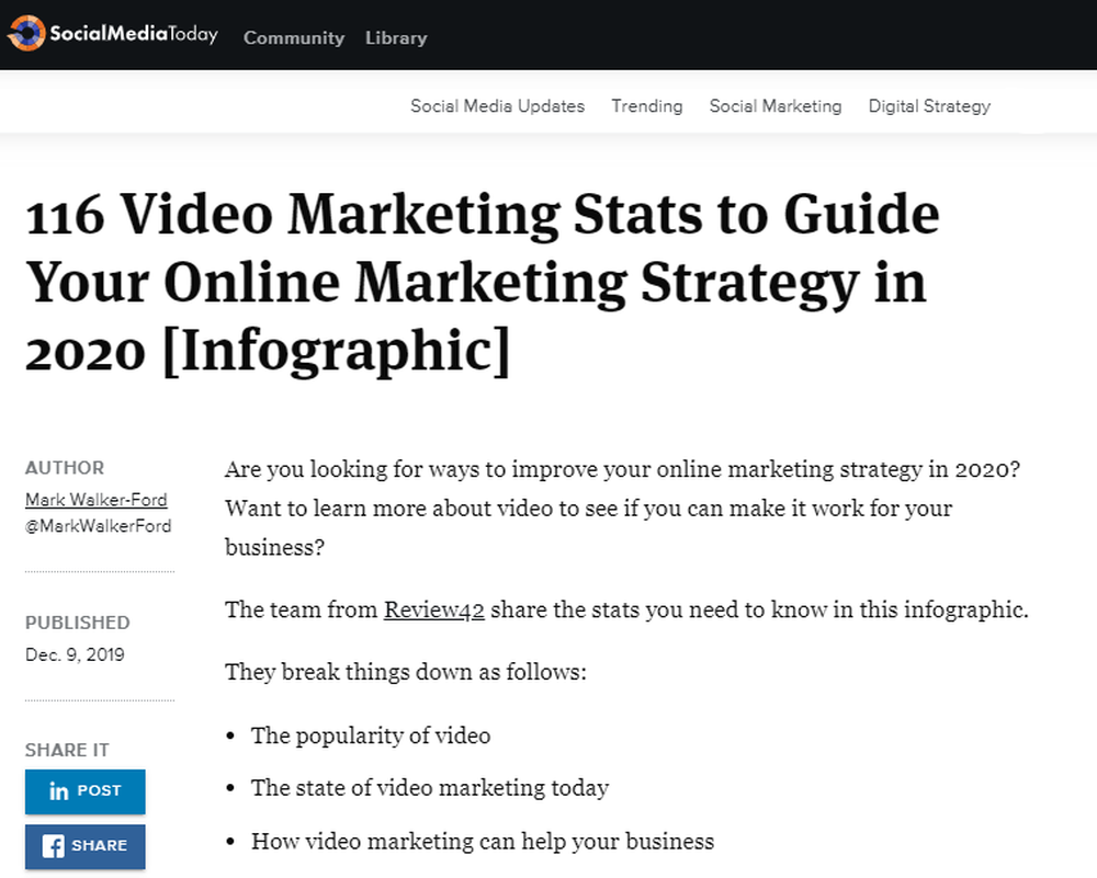 116 Video Marketing Stats to Guide Your Online Marketing Strategy in 2020  Infographic    Social Media Today.png