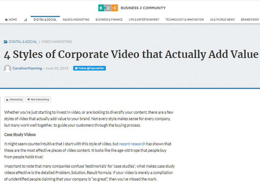 4 Styles of Corporate Video that Actually Add Value - Business 2 Community.png