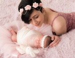 Adorable Mother and Baby - Newborn Photography North Vancouver BC by Eve Parisa